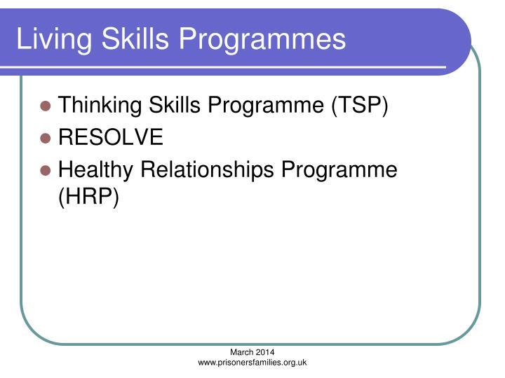 Living Skills Programmes
