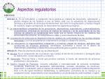 aspectos regulatorios1
