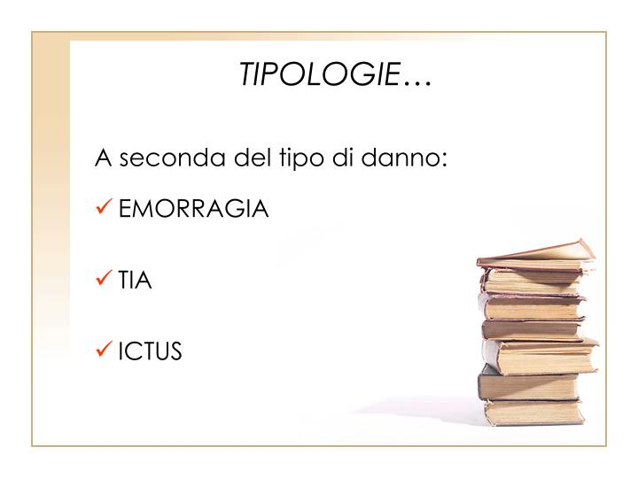 TIPOLOGIE…
