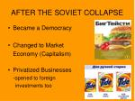 after the soviet collapse