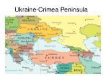 ukraine crimea peninsula