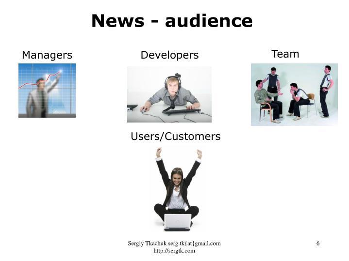 News - audience