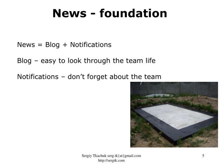 News - foundation