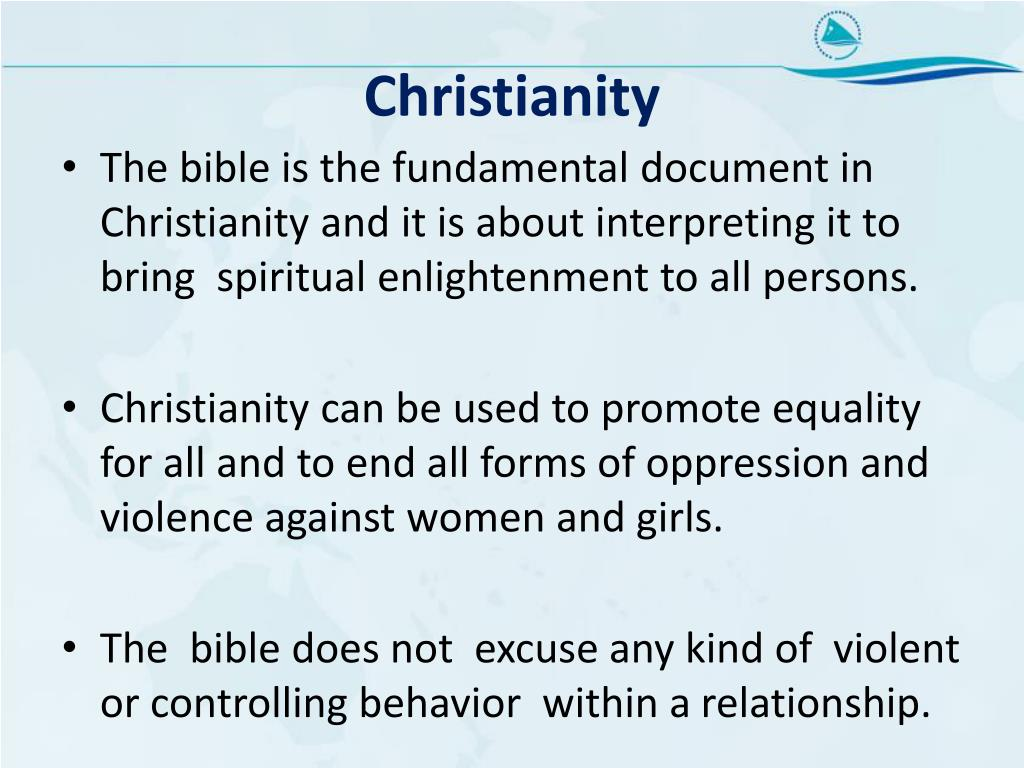 PPT - Biblical Interpretations on Violence Against Women and