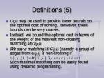 definitions 5
