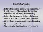definitions 6