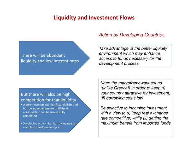 Liquidity and Investment Flows