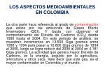 los aspectos medioambientales en colombia1