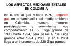 los aspectos medioambientales en colombia2