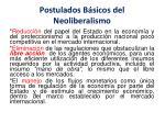 postulados b sicos del neoliberalismo1