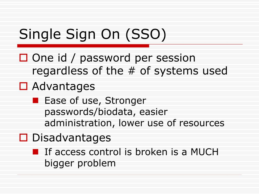 PPT - Access Control Systems PowerPoint Presentation - ID