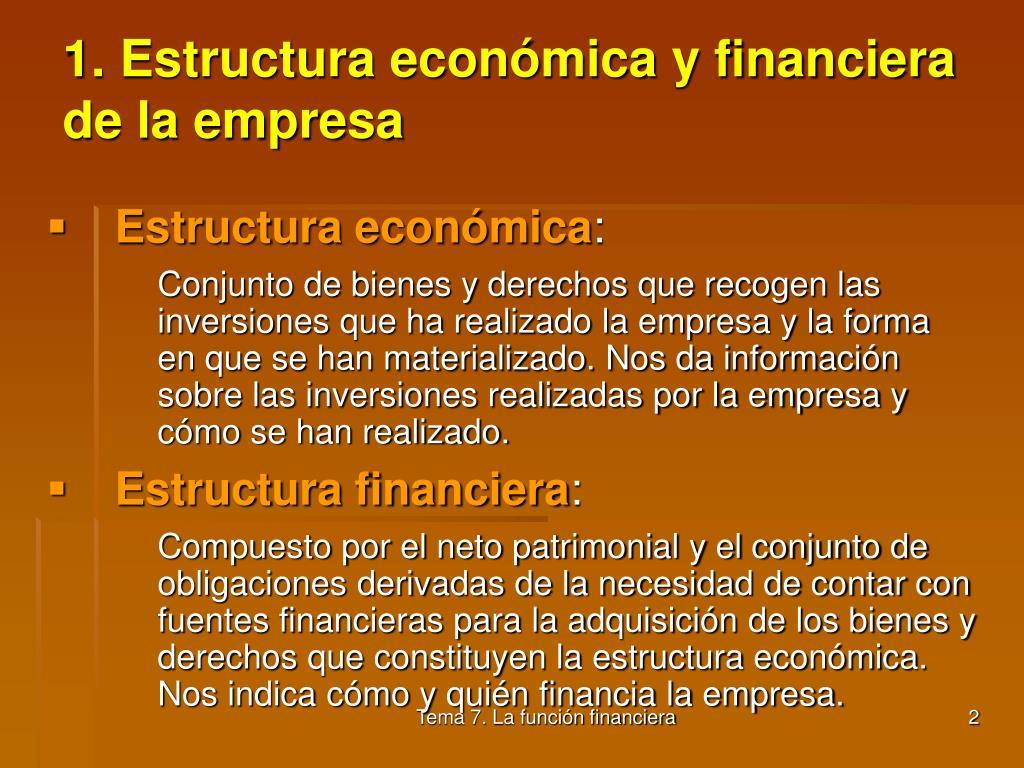 Ppt Tema 7 La Función Financiera Powerpoint Presentation