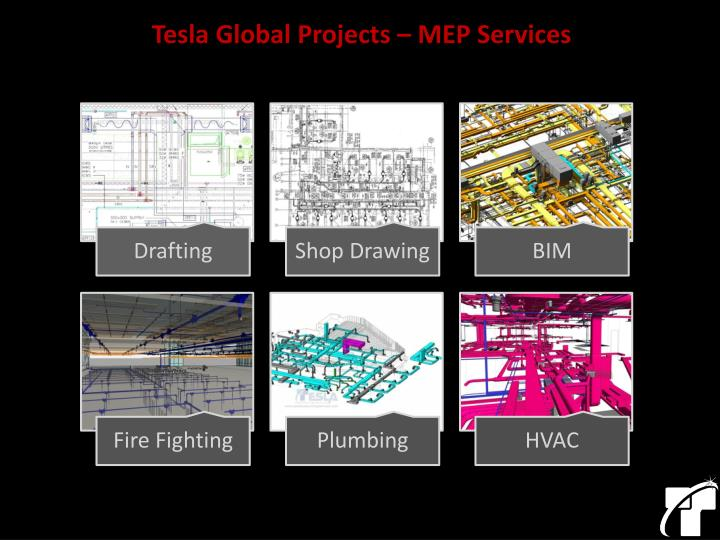 Tesla Global Projects – MEP Services
