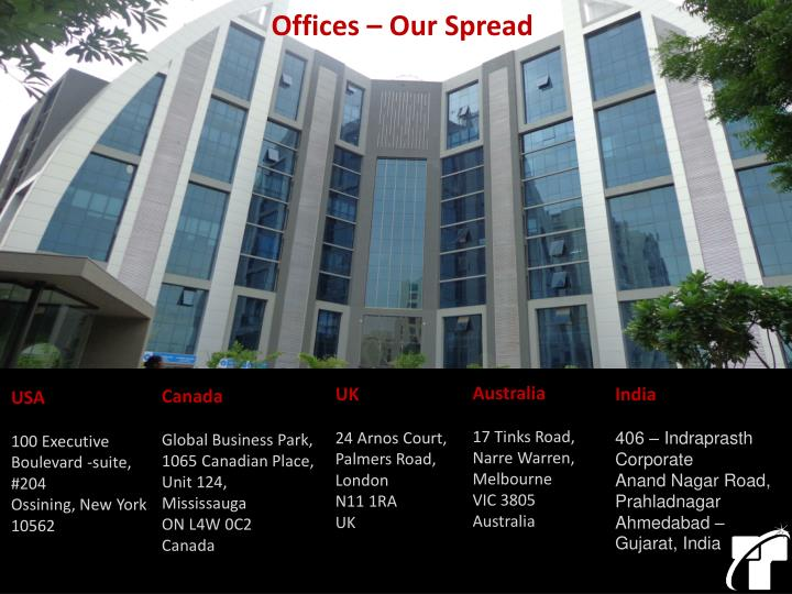 Offices – Our Spread