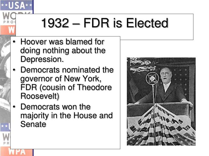 1932 fdr is elected