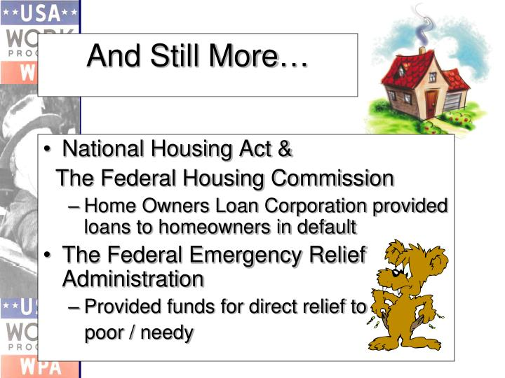 National Housing Act &