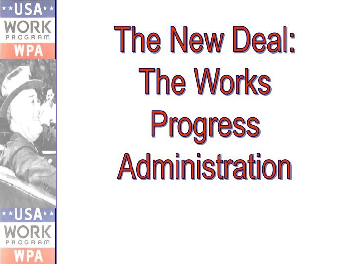 The New Deal: