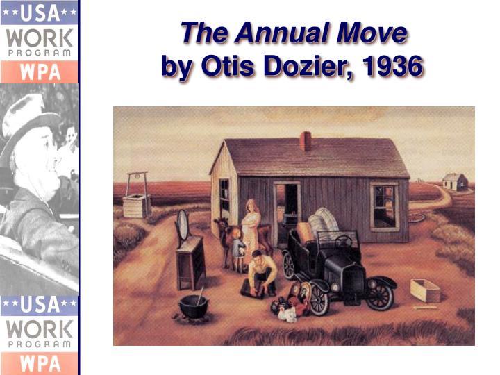 The Annual Move