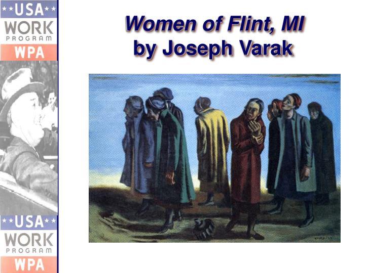 Women of Flint, MI