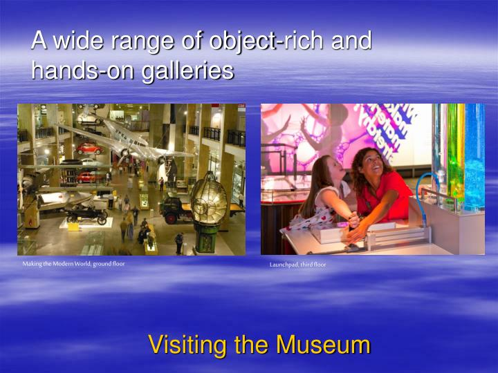 A wide range of object-rich and