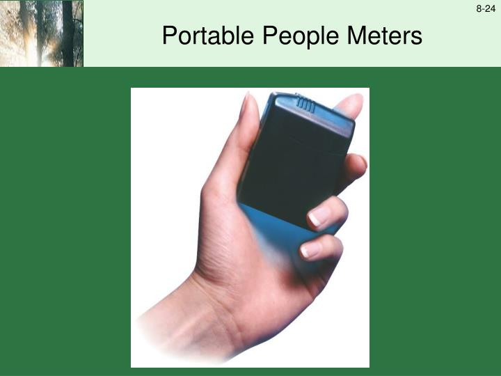 Portable People Meters