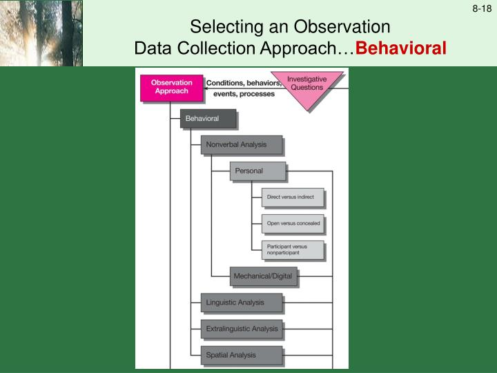 Selecting an Observation