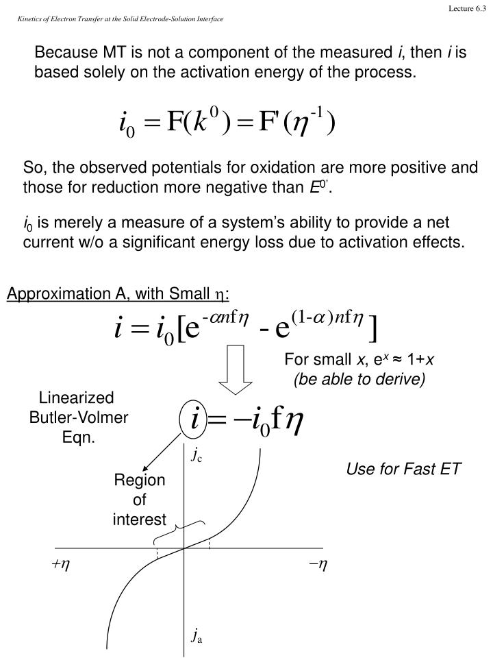 Kinetics of Electron Transfer at the Solid Electrode-Solution Interface