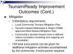 tsunamiready improvement outcomes cont