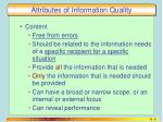 attributes of information quality2