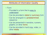 attributes of information quality3