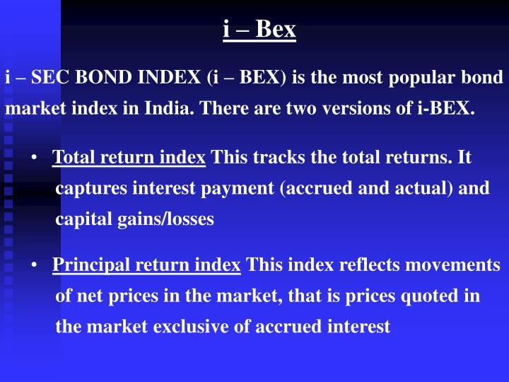 i – Bex