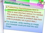 applications of threads1