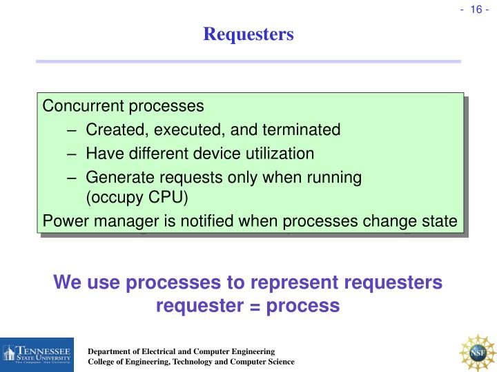 Requesters