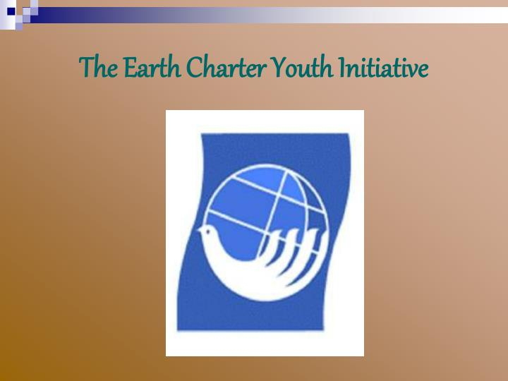 the earth charter youth initiative n.