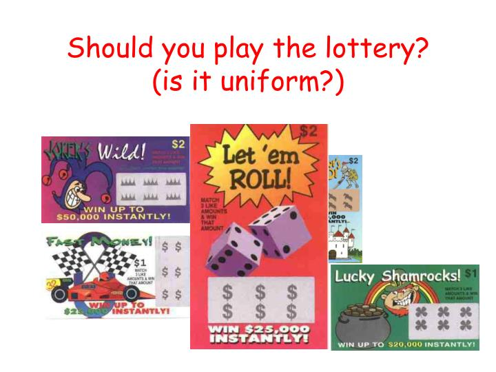 Should you play the lottery?