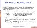 simple sql queries cont1