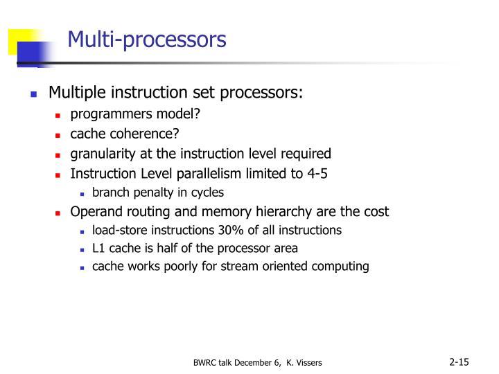 Multi-processors