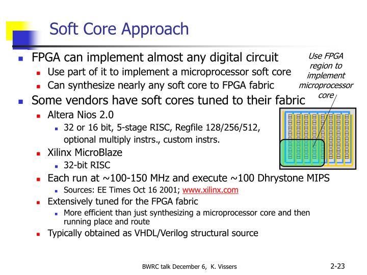 Soft Core Approach