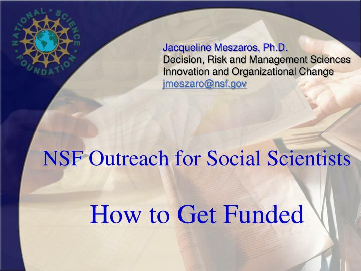nsf social science dissertation
