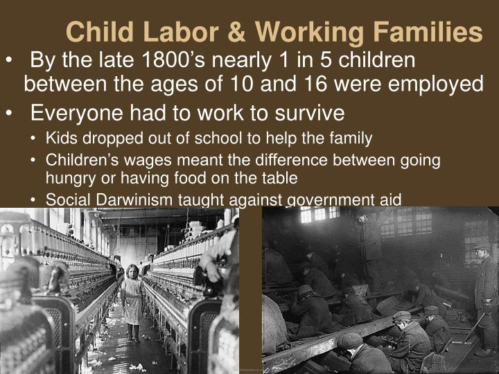 Child Labor & Working Families