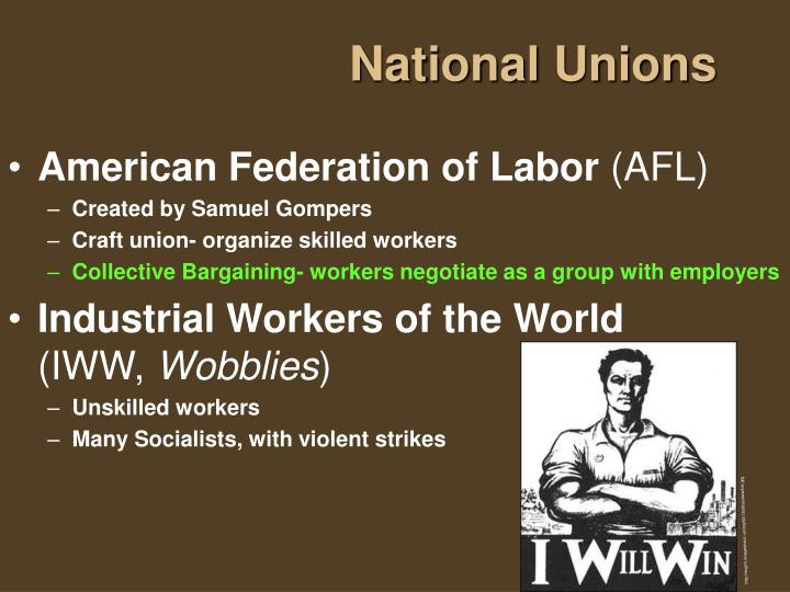 National Unions