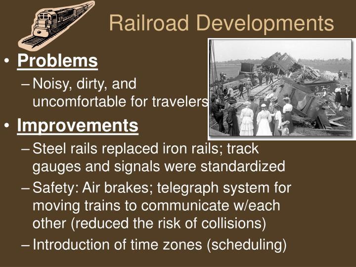 Railroad Developments