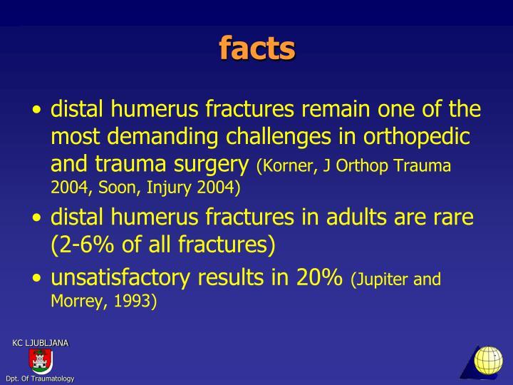 Ppt Distal Intraarticular Humerus Fractures Powerpoint