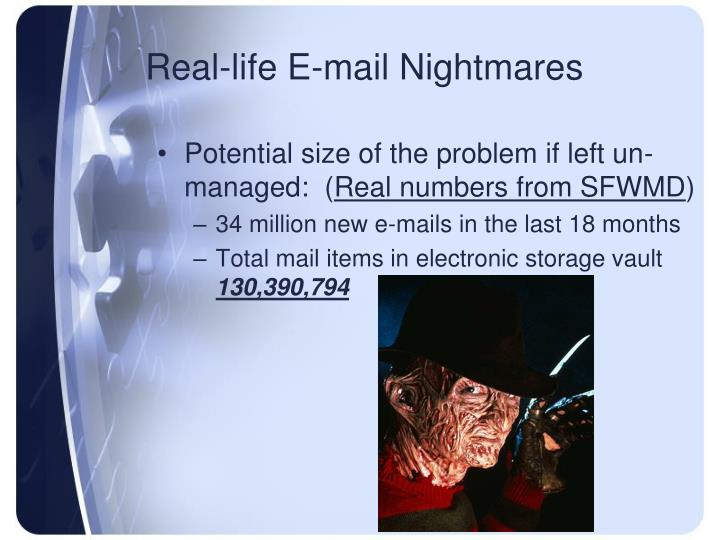 Real-life E-mail Nightmares