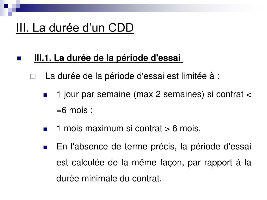 Ppt Les Differents Contrats De Travail Powerpoint