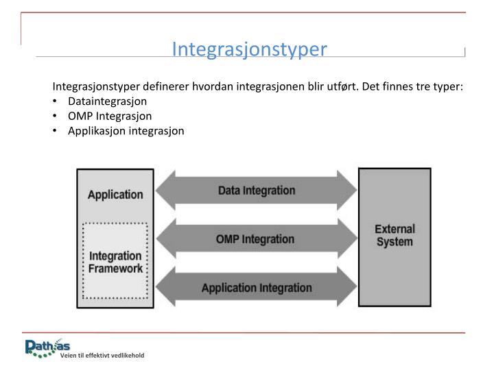 Integrasjonstyper