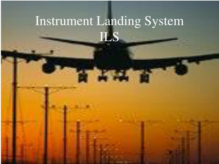 instrument landing system Share unpacked: instrument landing systems on facebook, link opens in a new window operated by external parties and may not conform to the same accessibility policies as jetblue.