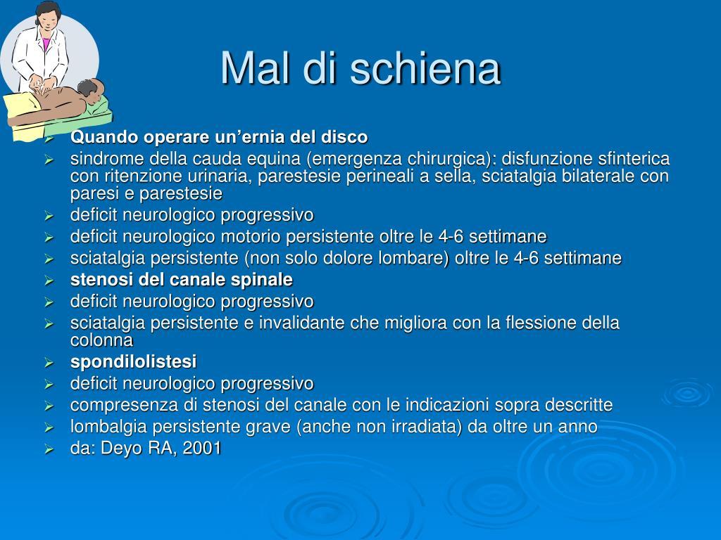PPT - Mal di schiena PowerPoint Presentation, free..
