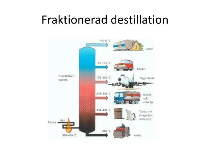 Fraktionerad destillation