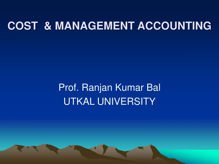 cost management accounting n.